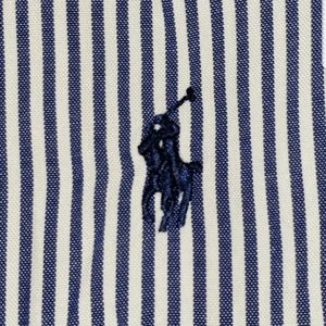 RALPH LAUREN STRIPED SHIRT 16 1/2 34/35 LARGE